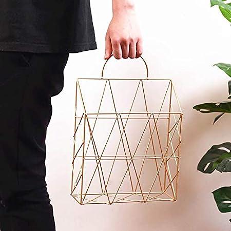 Portable Newspaper Storage Basket Hanging Magazine Holder Wall Mounted Book Shelf Lanceasy Newspaper Storage Basket