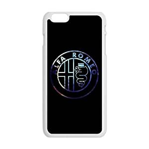 Happy Alfa Romeo car sign fashion cell phone case for Iphone 5/5S/4Iphone 5/5S