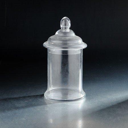 Diamond Star 64078 10 x 6 in. Glass Jar with Lid44; Clear (Diamond Star Corp)