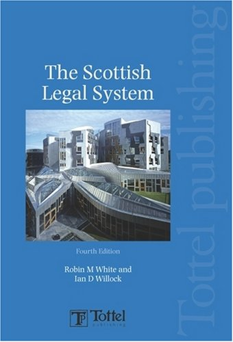 Scottish Legal System Robin White