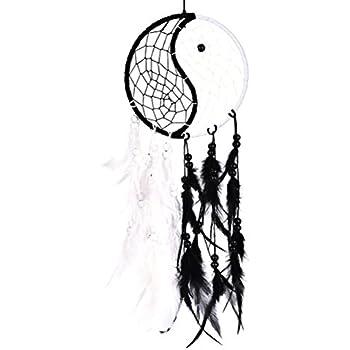 Amazon Com Buytra Handmade Yin Yang Dream Catcher