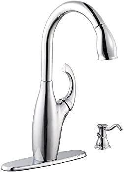 Schon Contemporary Single-Handle Kitchen Faucet