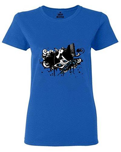 Price comparison product image FeelingSmart DJ Comfort Cotton Poly Short Sleeve women T-shirt Size XL