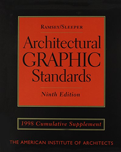 Architectural Graphics Standards 1998 Supplement  w/ Upgrade Architectural Graphic Standards CD-ROM version 2.0