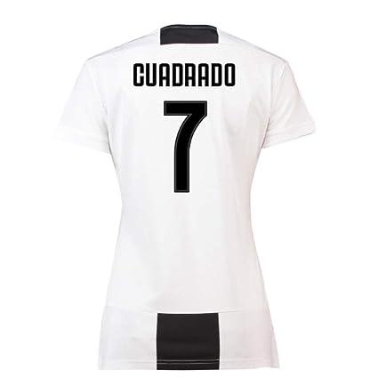 db0bbcd6fbc Amazon.com   UKSoccershop 2018-19 Juventus Womens Home Shirt ...