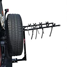Kage Racing BK4 Four-Bike Rack Carrier for 1-1/4-Inch and 2-Inch Hitch