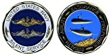 Navy Silent Service Challenge Coin