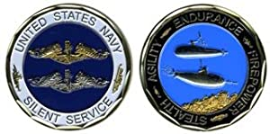 Navy Silent Service Challenge Coin from Eagle Crest