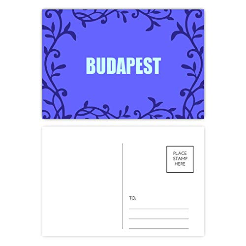 Budapest Hungary City Postcard Mailing Card Branch Totem