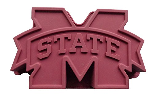 Cake Pan Instruction - NCAA Mississippi State Bulldogs Cake Pan with Stand, One Size, Maroon