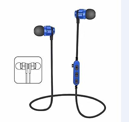 Auricular ,YUYOUG Auricular inalámbrico Bluetooth 4,2 auriculares estéreo audífonos Sport auriculares (Blue