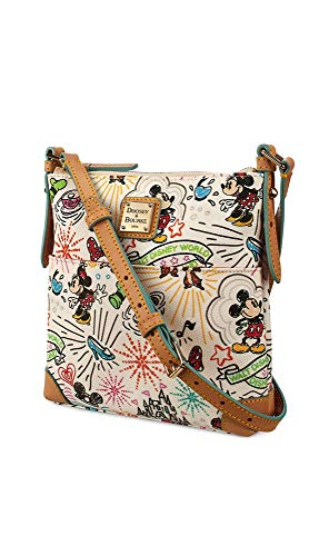 amp; Sketch Carrier Dooney Purse Bourke Letter Crossbody White TqwOdz