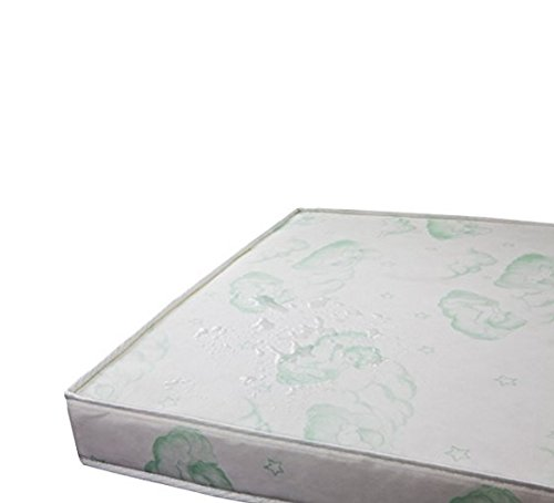 Dream On Me 3'' Playard Mattress Deluxe Waterproof Cover, White