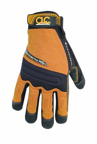 Custom Leathercraft 160M Contractor XtraCoverage Flex Grip Work Gloves, Medium