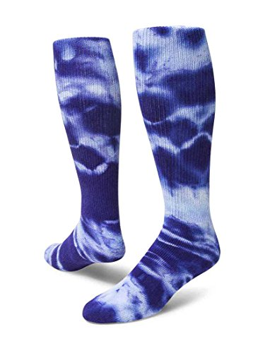 Red Lion Revolution Tie Dyed Tube Socks ( Purple - Small (Tie Dye Youth Socks)
