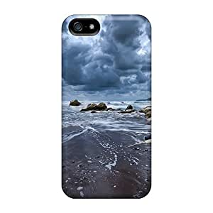 Awesome Cases Covers/iphone 5/5s Defender Cases Covers(gorgeous Stormy Seashore)