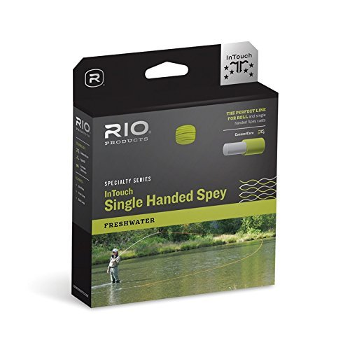RIO Products Fly Line Intouch Single Hand Spey #5, Peach-Camo
