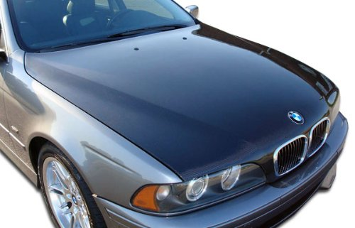 Carbon Creations Replacement for 1997-2003 BMW 5 Series E39 4DR OEM Look Hood - 1 Piece