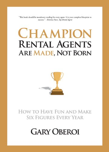 Read Online Champion Rental Agents Are Made, Not Born pdf epub