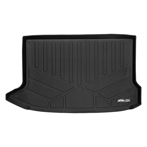 SMARTLINER All Weather Cargo Liner Floor Mat Black for 2018-2019 Hyundai Kona ()