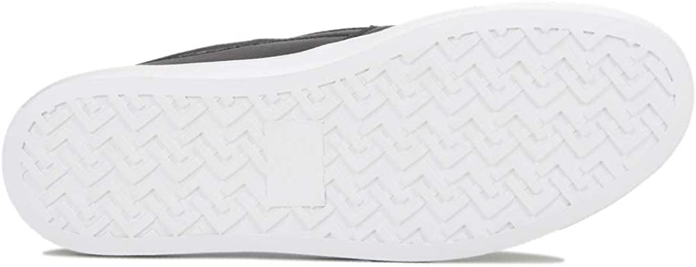 LUOBANIU Damen Slip-On Sneaker Leder Low-Top Classic Slipper Loafer Schuhe