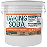 Baking Soda (1 Gallon Bucket, 10 lbs) by Pure Organic Ingredients, Highest Purity, Aluminum Free, Food & USP Grade, For Cooking, Baking, Cleaning, More!