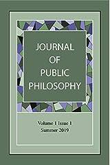 Journal of Public Philosophy (Volume) Paperback