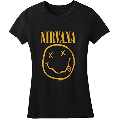 Womens Nirvana Smile Tissue T-Shirt