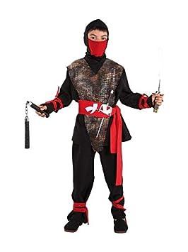 DISBACANAL Disfraz de Ninja niño - Único, 6 años: Amazon.es ...