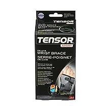 Tensor Sport Antimicrobial Wrist Brace, Right, L/XL