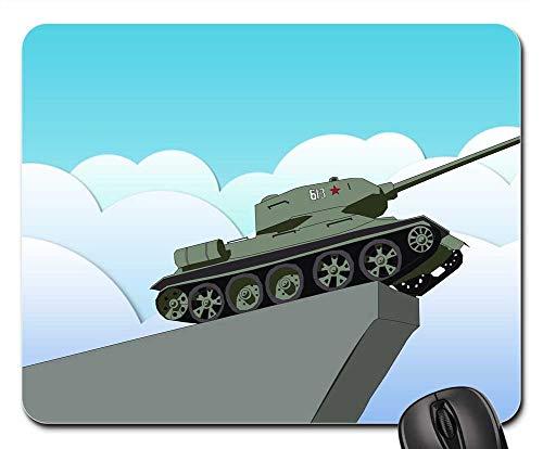 Mouse Pad - Tank Monument Victory Soviet - Tank Pad Street