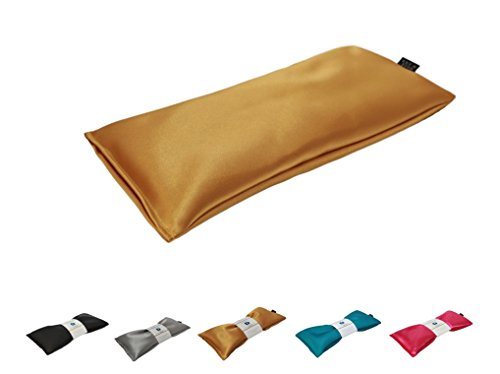 Eye Pillow Vacation Organic Flax Seed Filled, Microwavable U