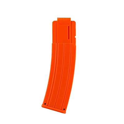 WORKER 22-Darts Banana Magazine Clip Replacement for Nerf N-Strike Elite Toy Color Orange: Toys & Games