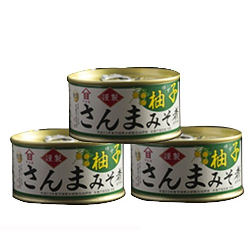 Yamame Saury & citron simmering in miso Cooking Canned food (6.4oz) x 3pcs
