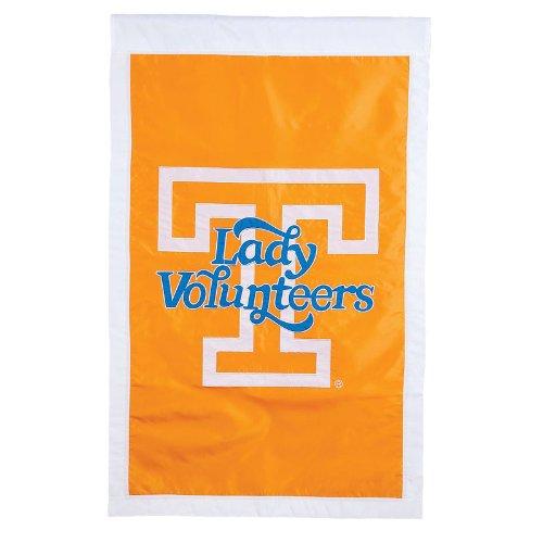 28'x44' Applique Banner Flag - Tennessee Lady Vols Tennessee Orange 28'' x 44'' Team Logo Applique Flag