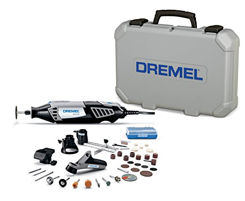 Dremel 4000-4 34 Variable Speed Rotary Tool Kit – Engraver, Polisher, and Sander- Perfect for Cutting, Detail Sanding, Engraving, Wood Carving, and Polishing- 4 Attachments 34 Accessories
