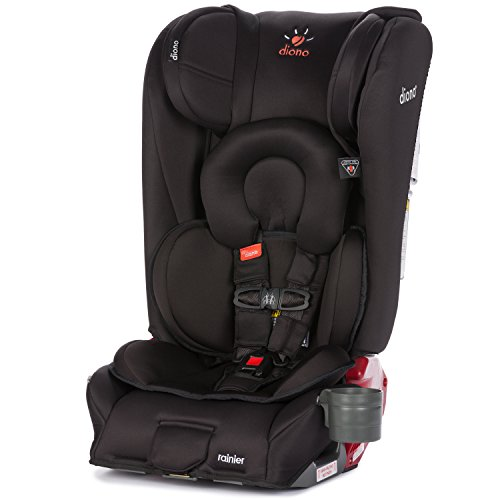 Diono Rainier All-In-One Convertible Car Seat, Midnight