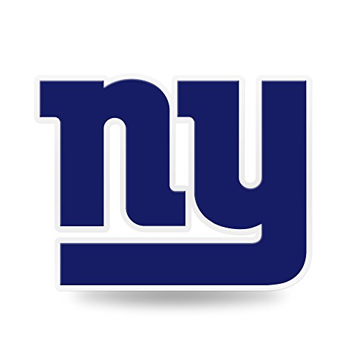 (Rico Industries NFL New York Giants Team Color Auto Emblem 3D Sticker )