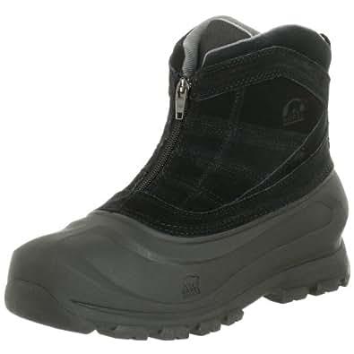 Sorel Men's Cold Mountain Zip Snow Boot,Black,8.5 M US
