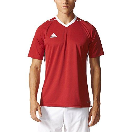 adidas Tiro 17 Mens Soccer Jersey M Power Red-White