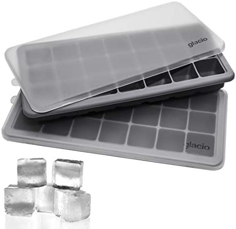 glacio Cube Trays Silicone Lids product image