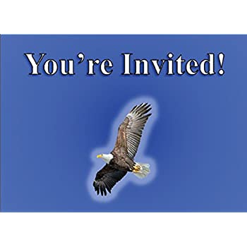 Amazon Com Eagle Scout Court Of Honor Invitation Glowing Eagle