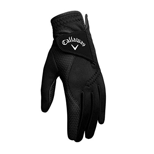 Callaway Mens Thermal Grip Golf Gloves (Pack of 2), Cadet Medium/Large, Ambidextrous, Prior Generation