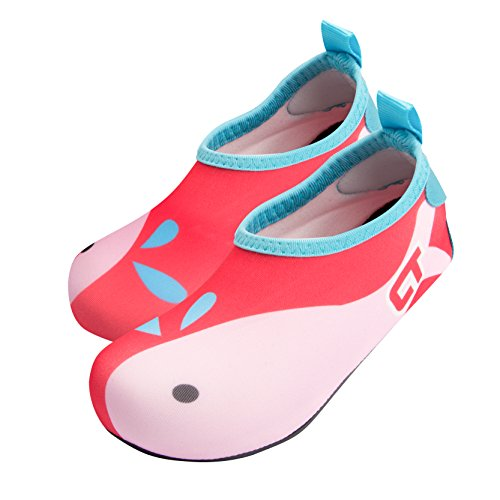 Price comparison product image Oyifan Kids Shoes Swim Water Quick Drying Tight Fit Beach Pool Surfing Barefoot