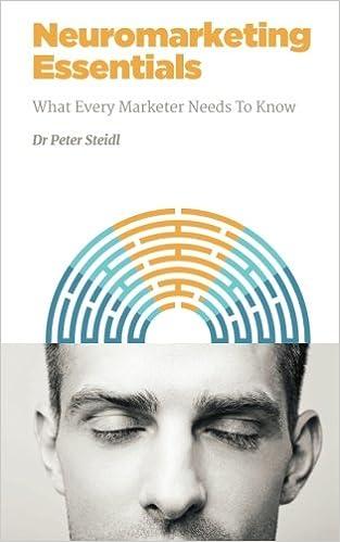 Neuromarketing Essentials: What Every Marketer Needs to Know: Volume 3 NMSBA: Amazon.es: Dr Peter Steidl: Libros en idiomas extranjeros