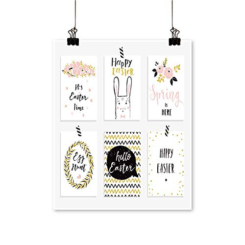 Single Painting Easter Greet Cards templaate for Invitations b ners Planer Gift Tags Diary Office Decorations,32