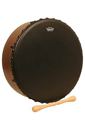 Remo Irish Bodhran Drum with Bahia Bass Head 16 x 4.5 in. (Bodhran Remo)