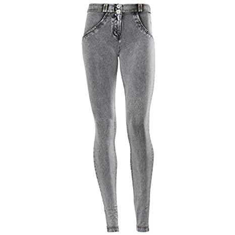 Amazon.com: Freddy WR.up - Pantalones vaqueros para mujer ...