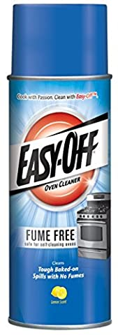 Easy-Off Fume Free Oven Cleaner, Lemon 14.5 oz Can - Self Cleaning Stainless Steel Grill