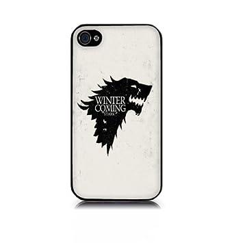 Carcasa iPhone 4/4S o 5 Diseño Juego de tronos (blanco o ...